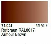 Farba Vallejo Model Air 71041 Armor Brown 17ml