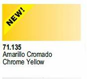 Farba Vallejo Model Air 71135Chrome Yellow 17ml