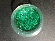 Brokat Metal Flake Opaque Emerald Green (L) 400µm