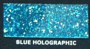 Brokat Metal Flake Holographic Blue 50g (L) 400µm
